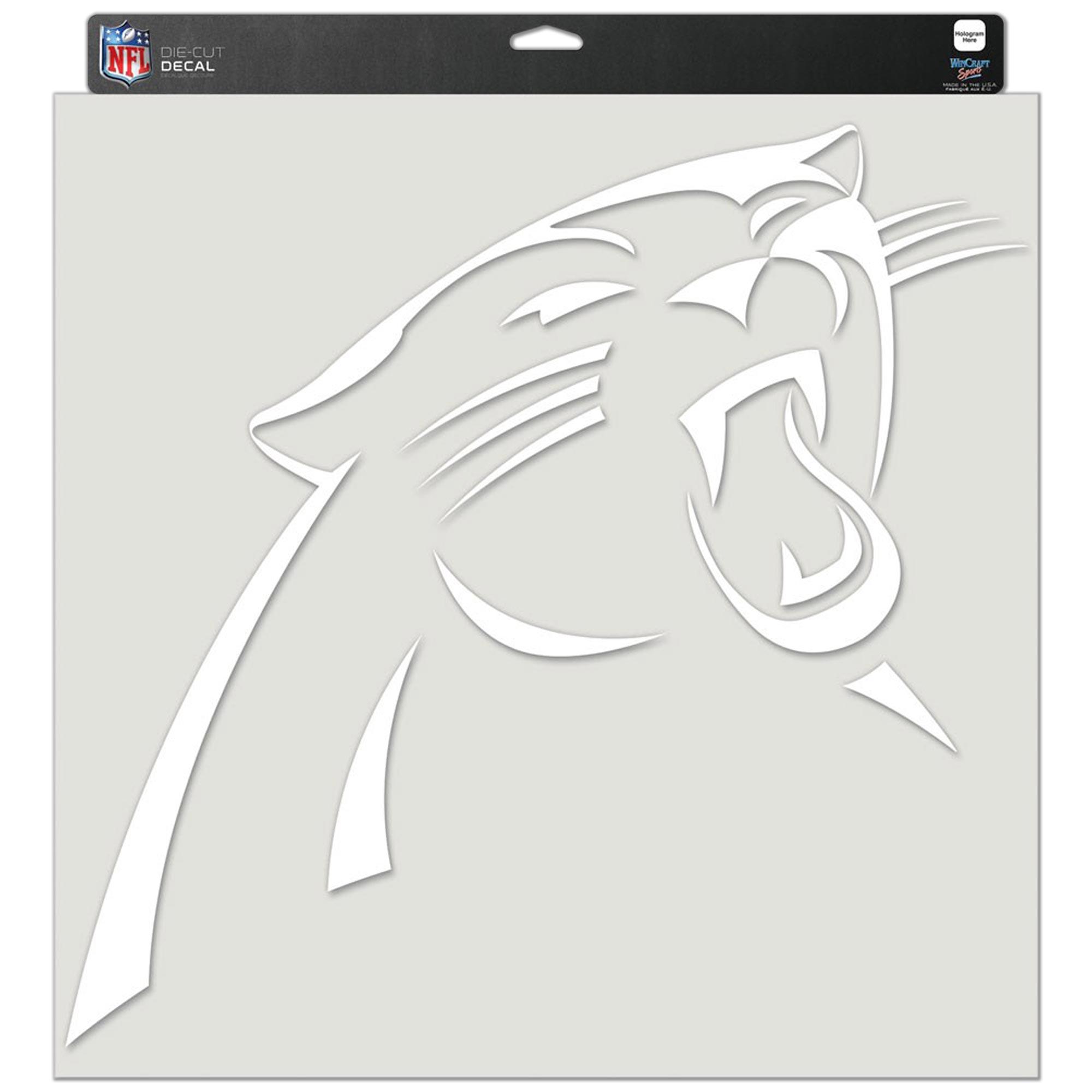 """Carolina Panthers WinCraft 17"""" x 17"""" Perfect Cut Decal"""