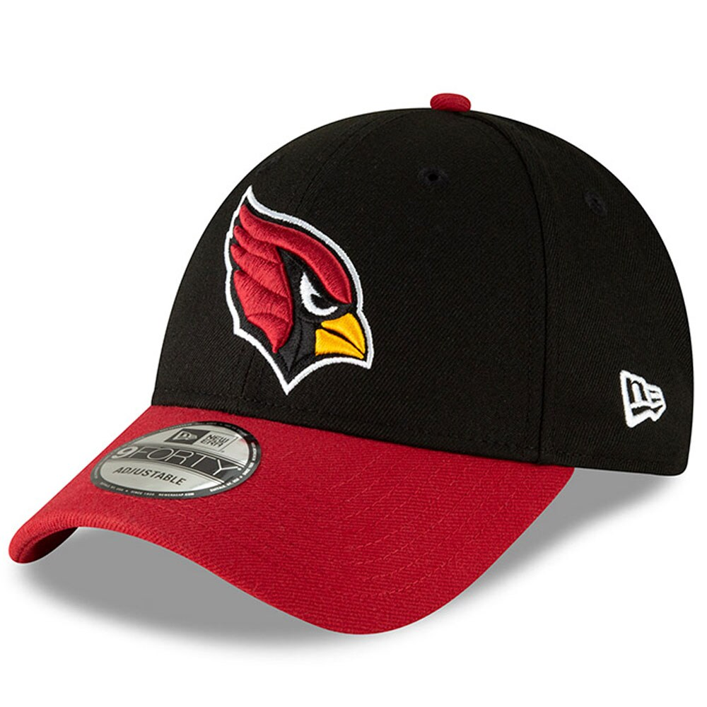 Arizona Cardinals New Era The League Two-Tone 9FORTY Adjustable Hat - Black/Cardinal