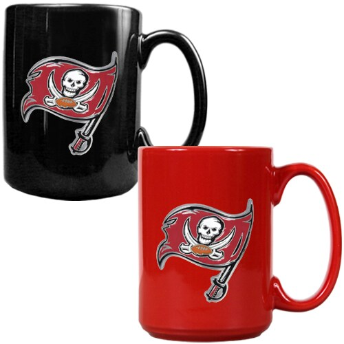 Tampa Bay Buccaneers 15oz. Coffee Mug Set