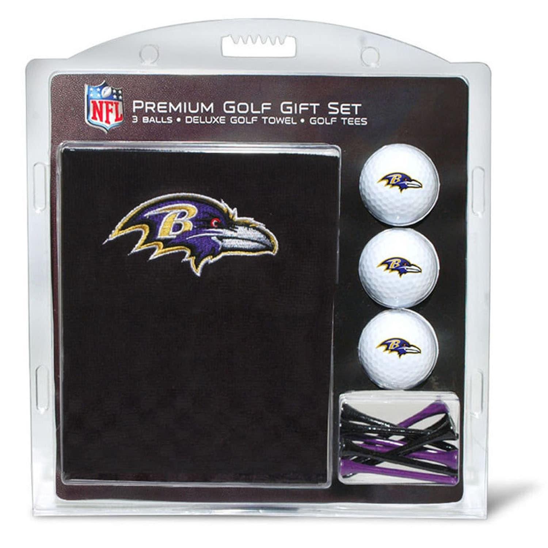 Baltimore Ravens Embroidered Golf Gift Set