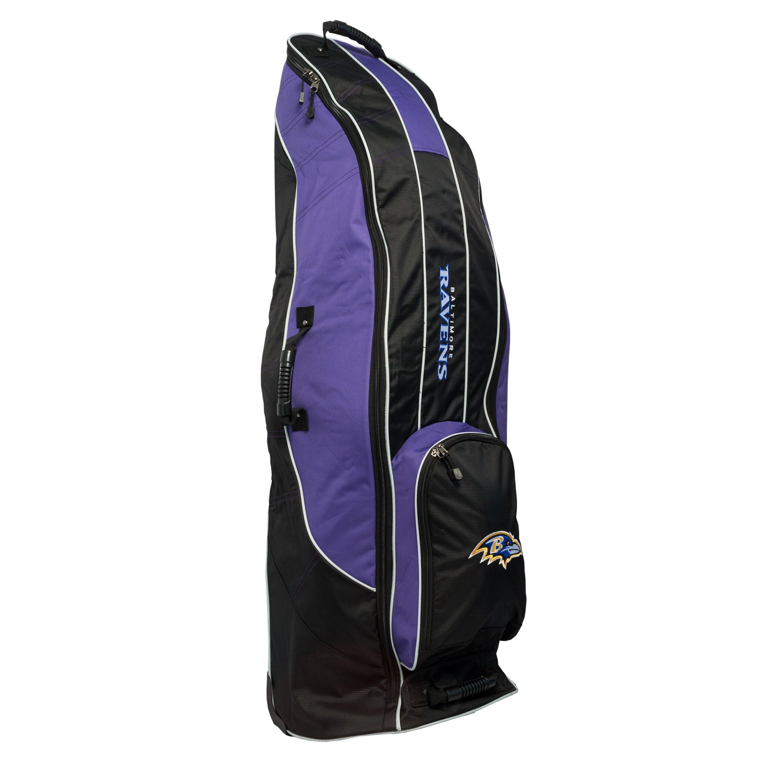 Baltimore Ravens Team Golf Travel Bag