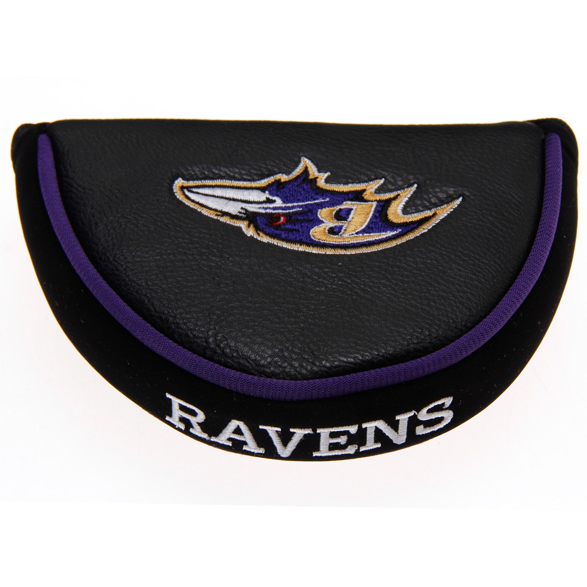 Baltimore Ravens Golf Mallet Putter Cover