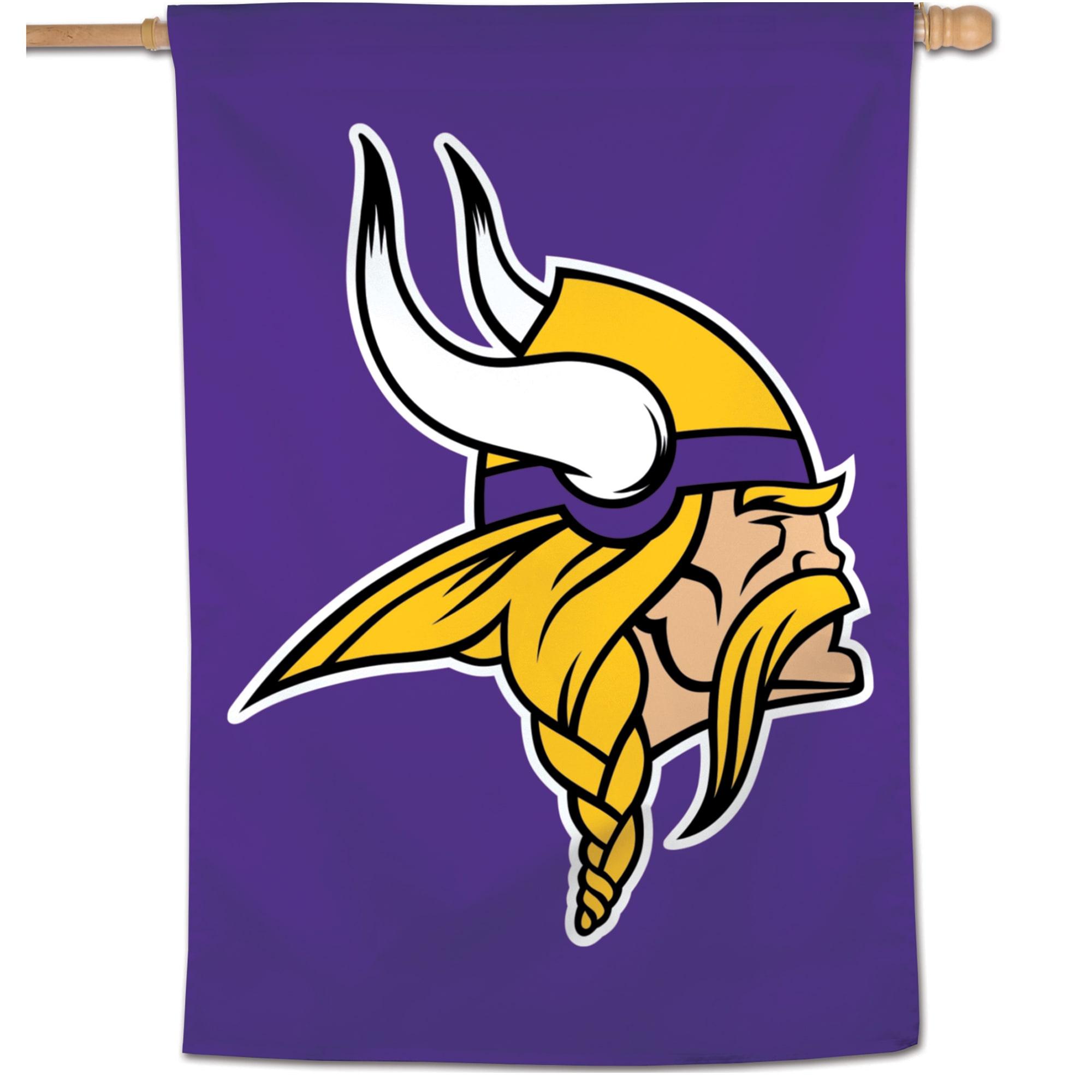 "Minnesota Vikings WinCraft 28"" x 40"" Large Logo Single-Sided Vertical Banner"
