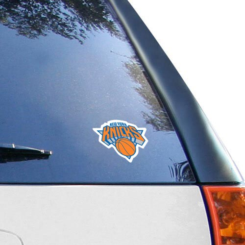 "New York Knicks WinCraft 4"" x 4"" Color Perfect Cut Decal"