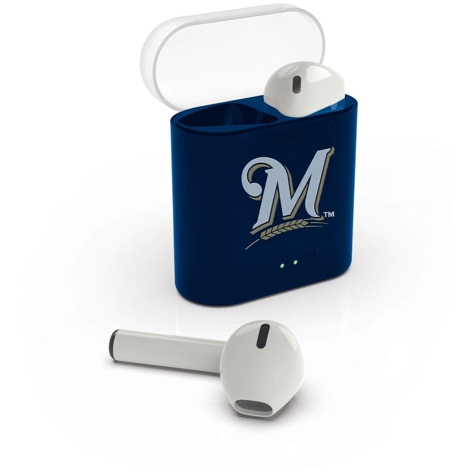 Milwaukee Brewers True Wireless Bluetooth Earbud Headphones