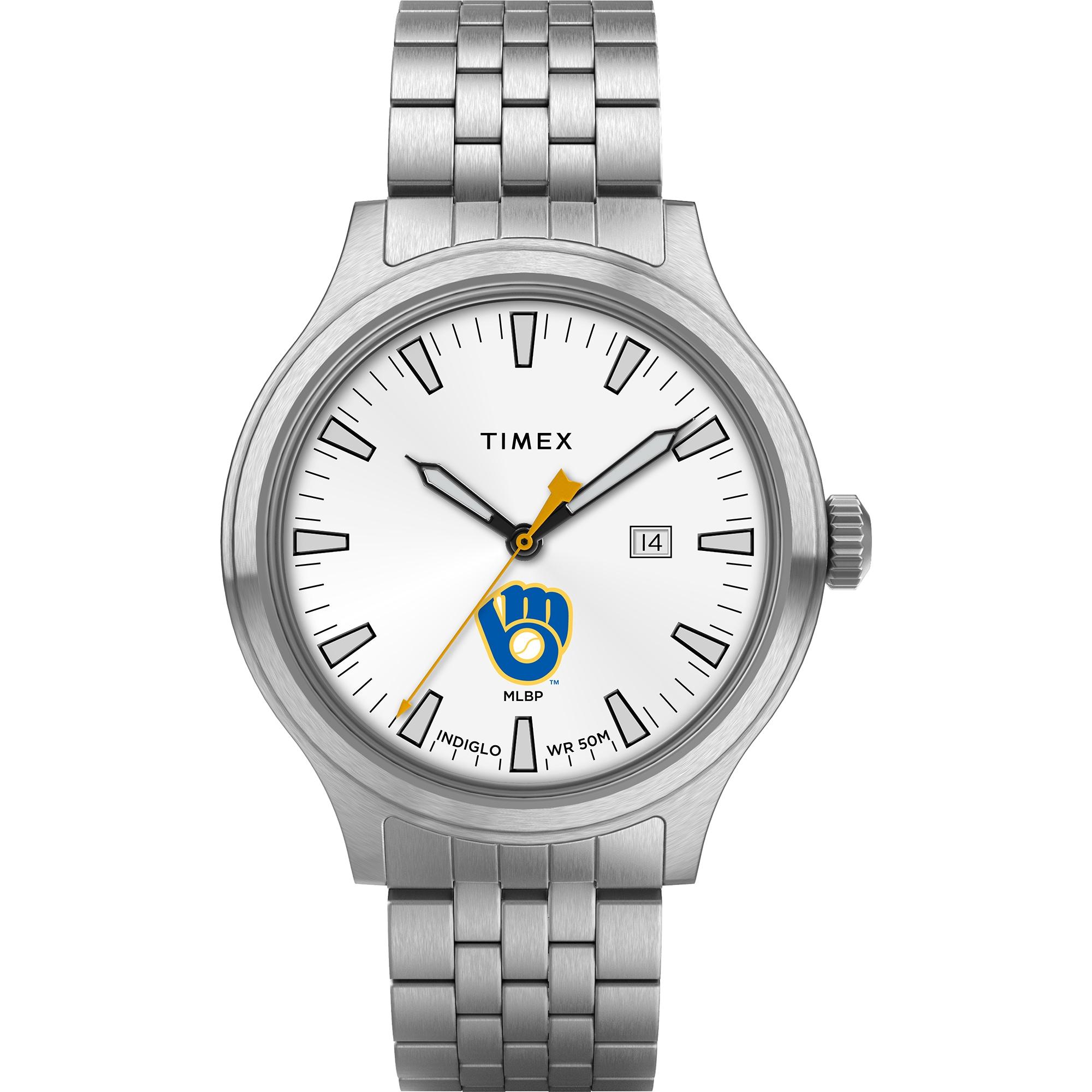 Milwaukee Brewers Timex Top Brass Watch