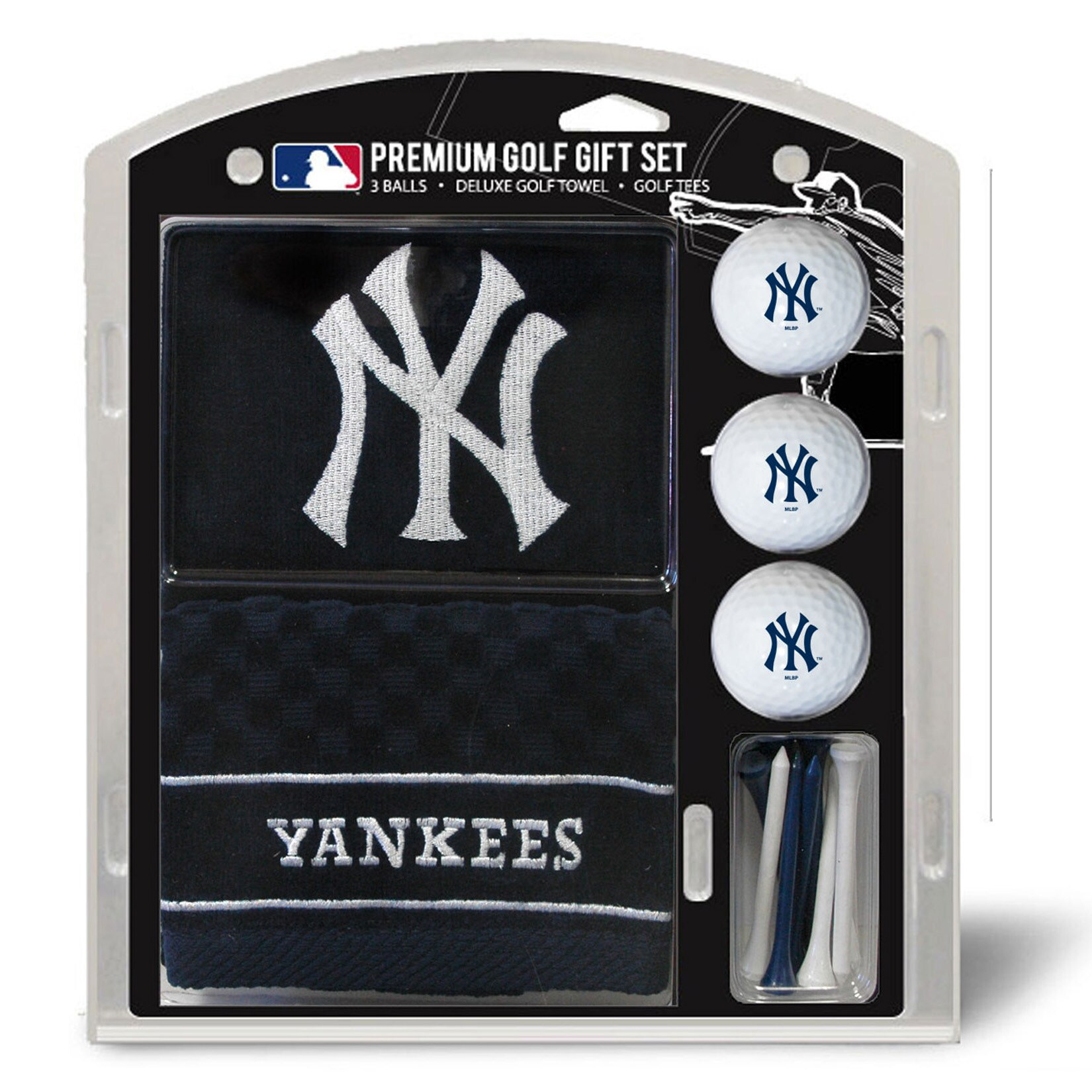 New York Yankees Embroidered Golf Gift Set