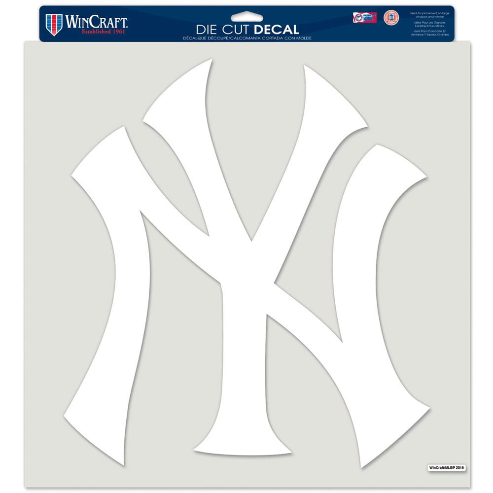 """New York Yankees WinCraft 17"""" x 17"""" Perfect Cut Decal"""