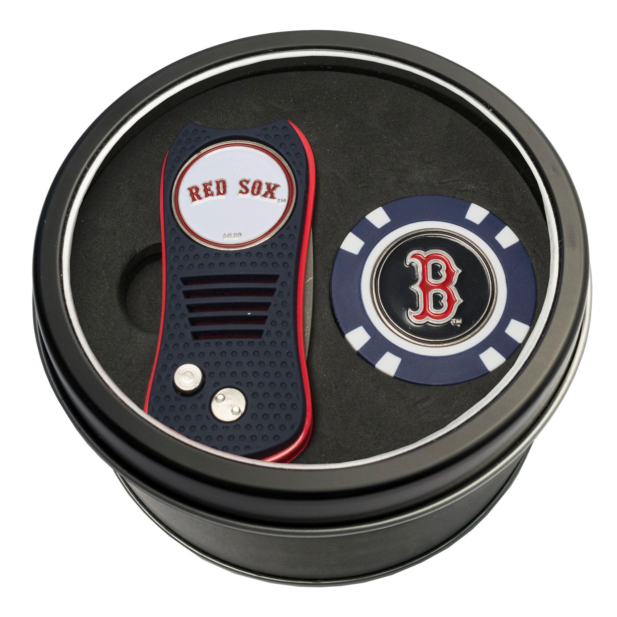 Boston Red Sox Switch Chip Golf Tin Set