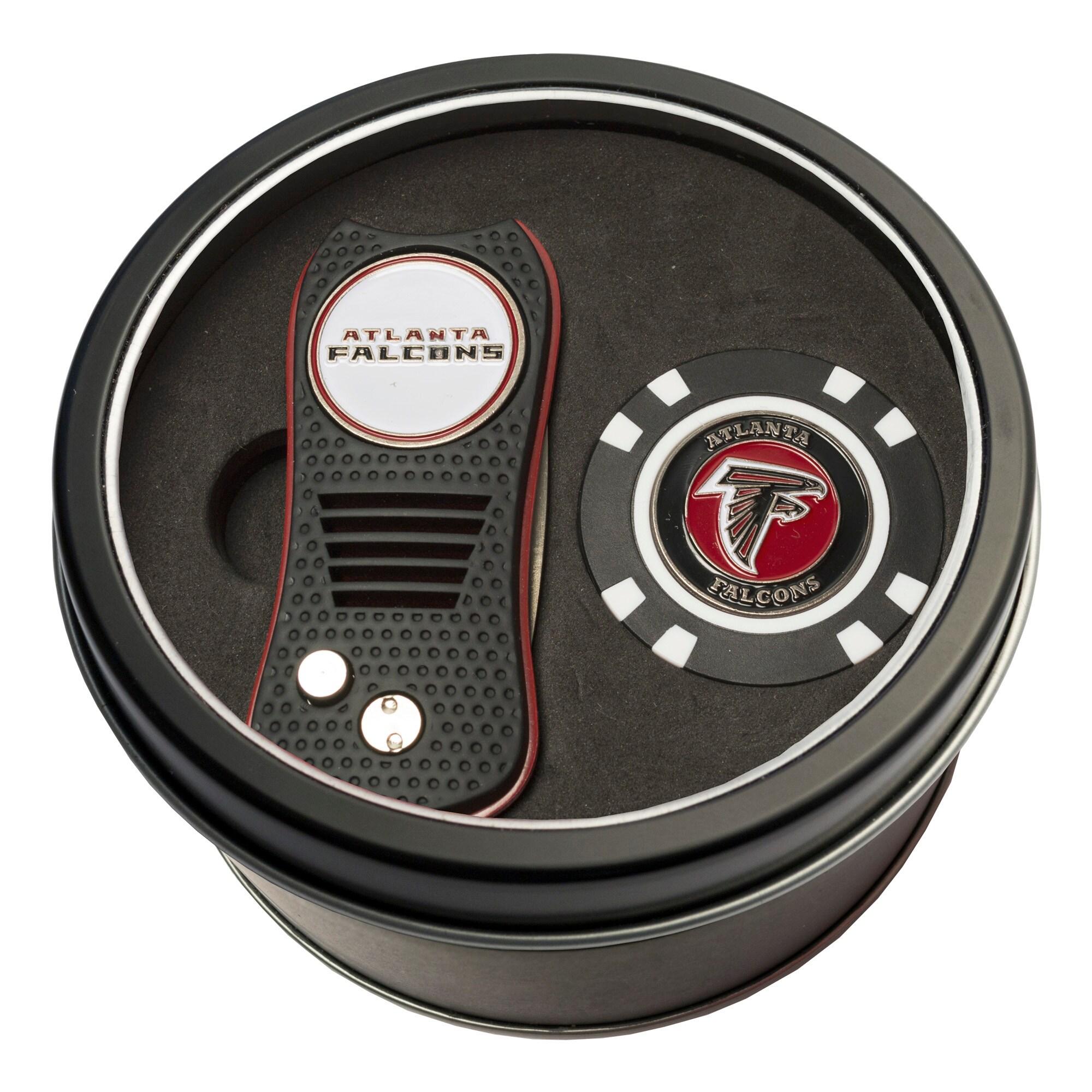 Atlanta Falcons Switch Chip Golf Tin Set