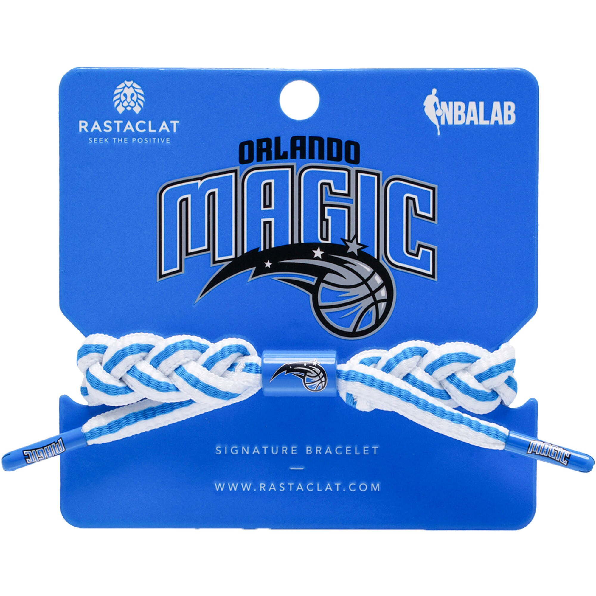 Orlando Magic Rastaclat Team Signature Away Bracelet