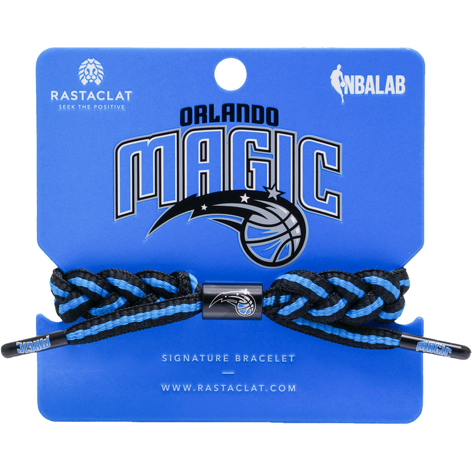 Orlando Magic Rastaclat Team Signature Home Bracelet
