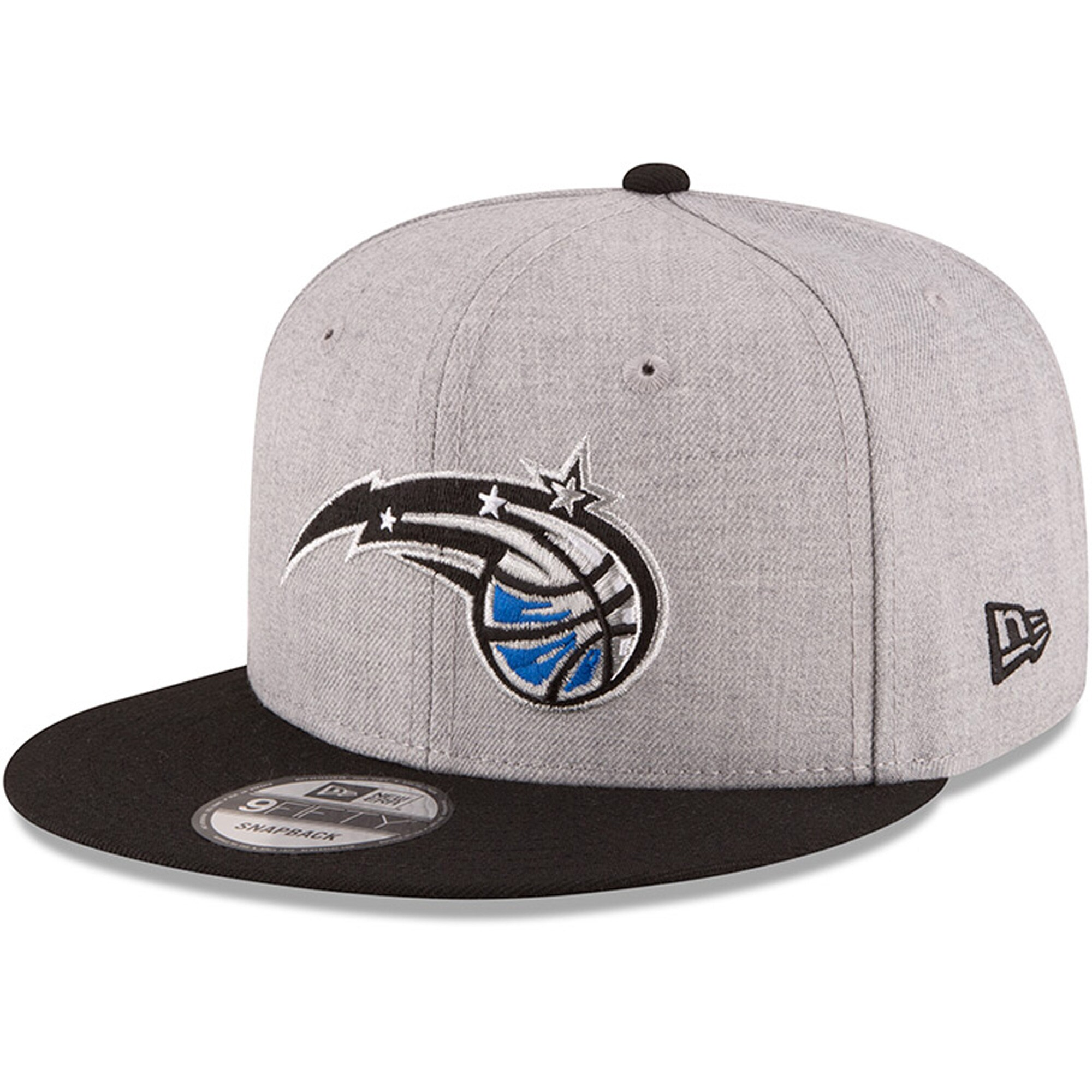 Orlando Magic New Era Two-Tone 9FIFTY Snapback Adjustable Hat - Heathered Gray/Royal
