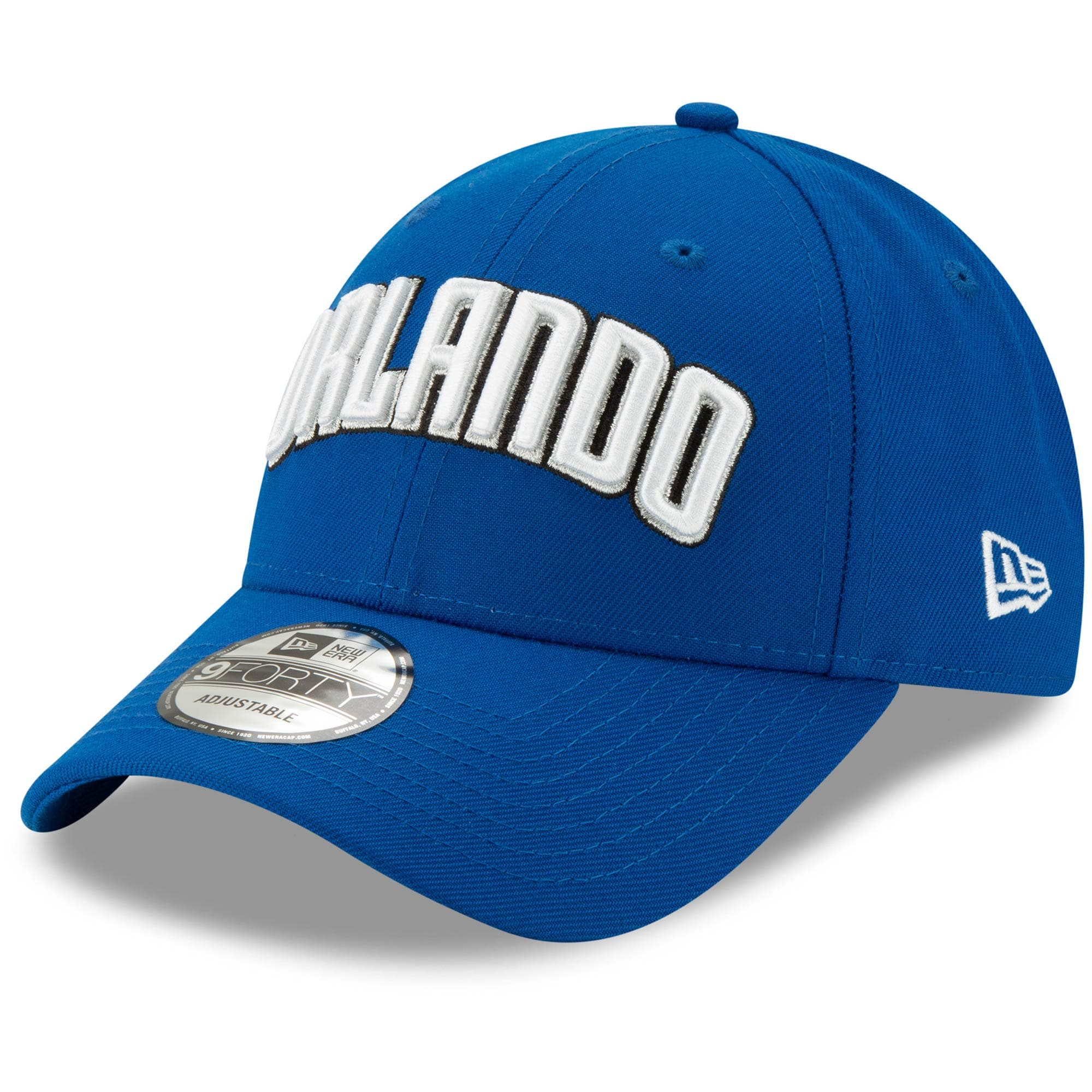 Orlando Magic New Era Team Statement Edition 9FORTY Adjustable Hat - Blue