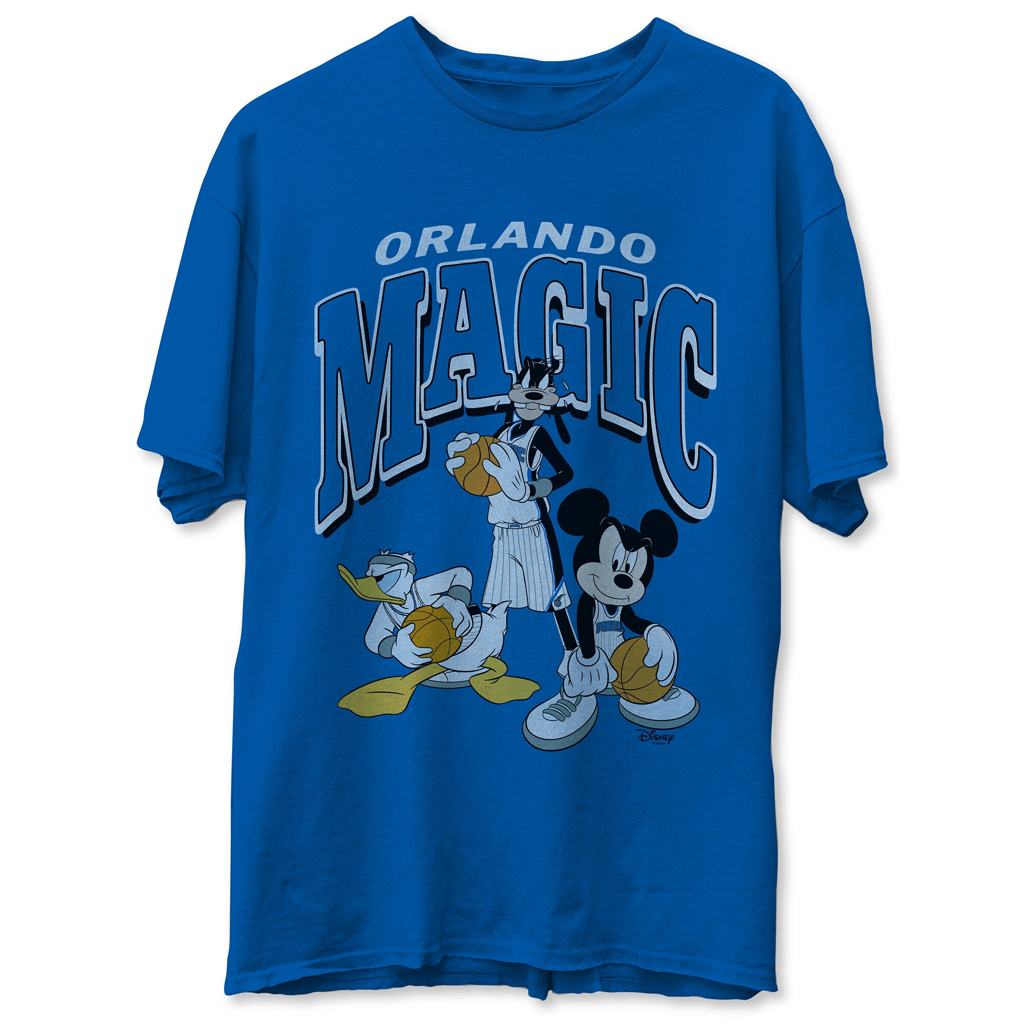 Orlando Magic Junk Food Disney Mickey Squad T-Shirt - Royal