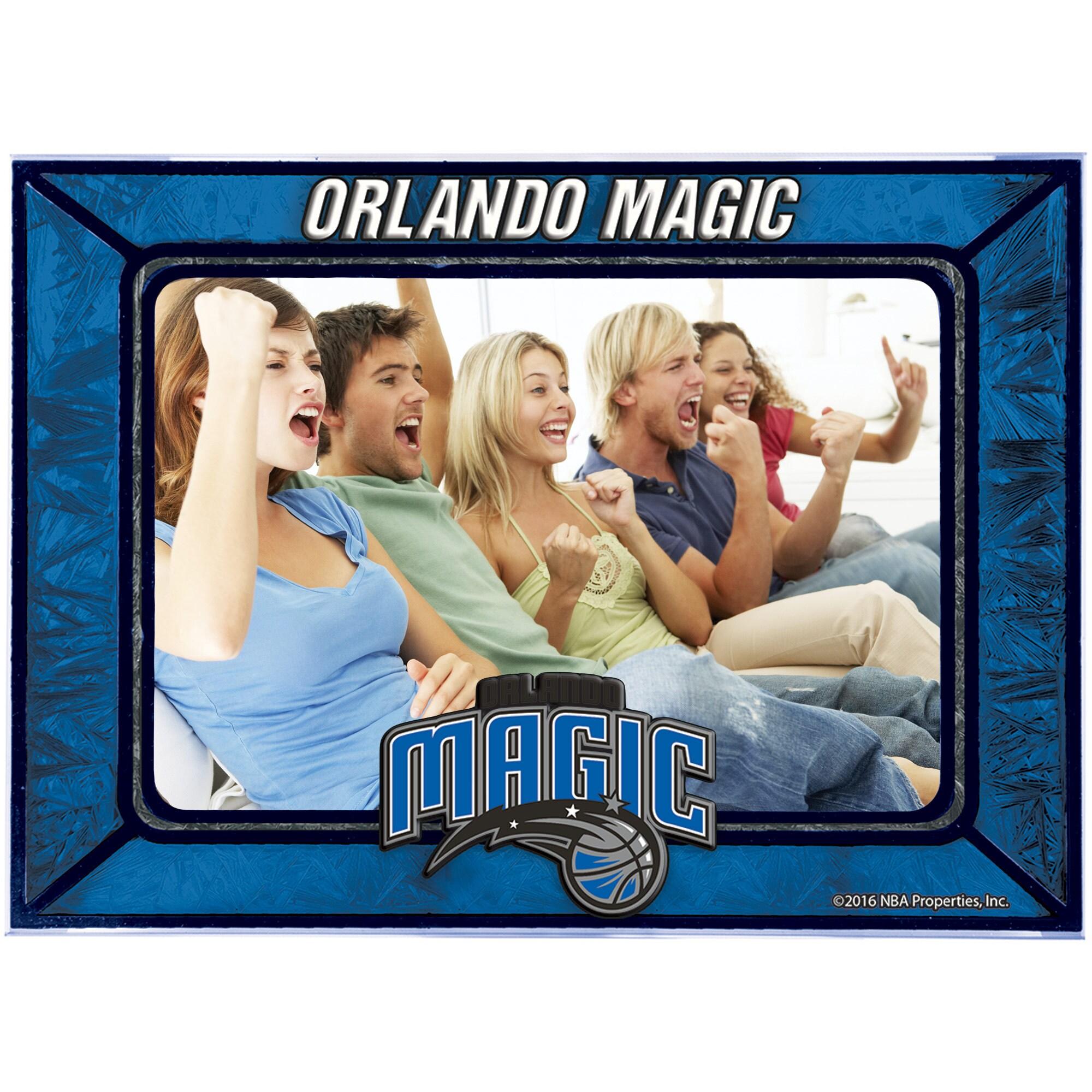 Orlando Magic Horizontal Art Glass Frame