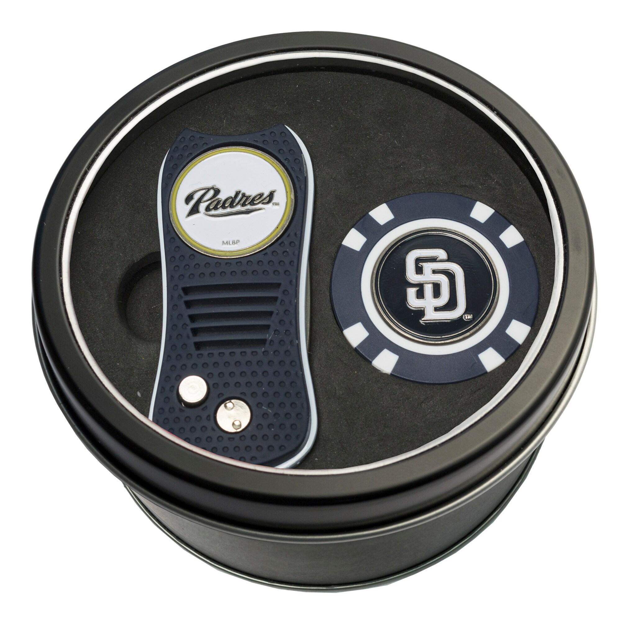 San Diego Padres Switch Chip Golf Tin Set