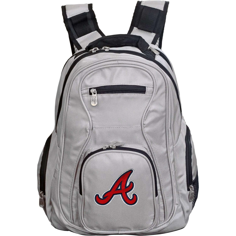Atlanta Braves Backpack Laptop - Gray