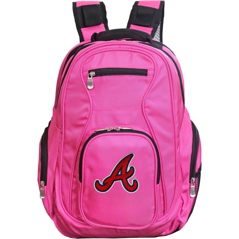 Atlanta Braves Backpack Laptop - Pink