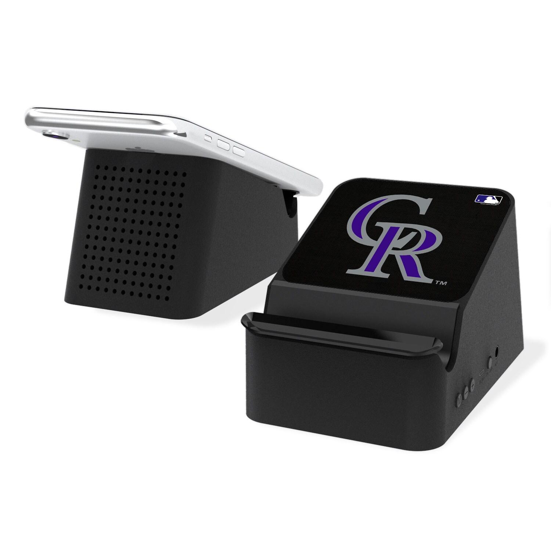 Colorado Rockies Wireless Charging Station & Bluetooth Speaker