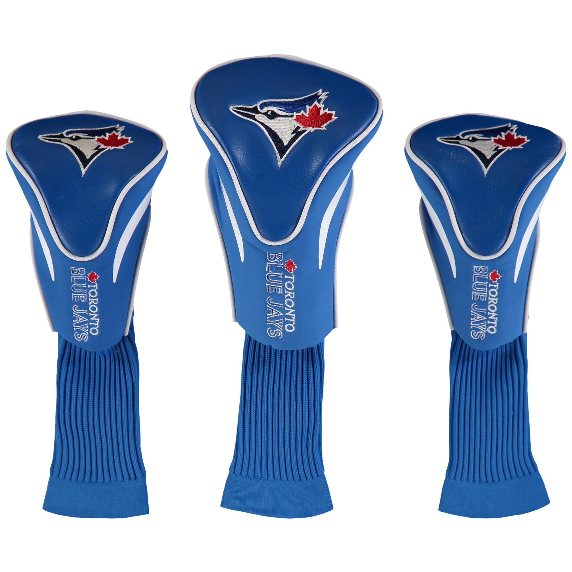 Toronto Blue Jays 3-Pack Contour Golf Club Head Covers