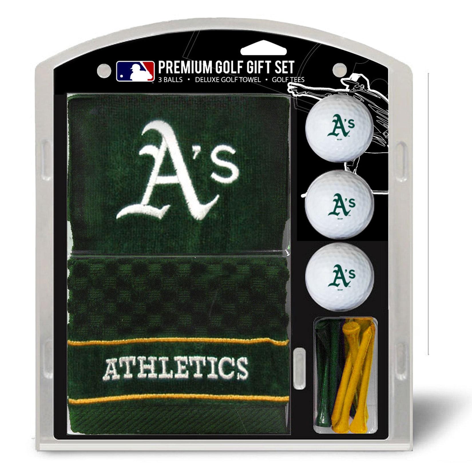 Oakland Athletics Embroidered Golf Gift Set