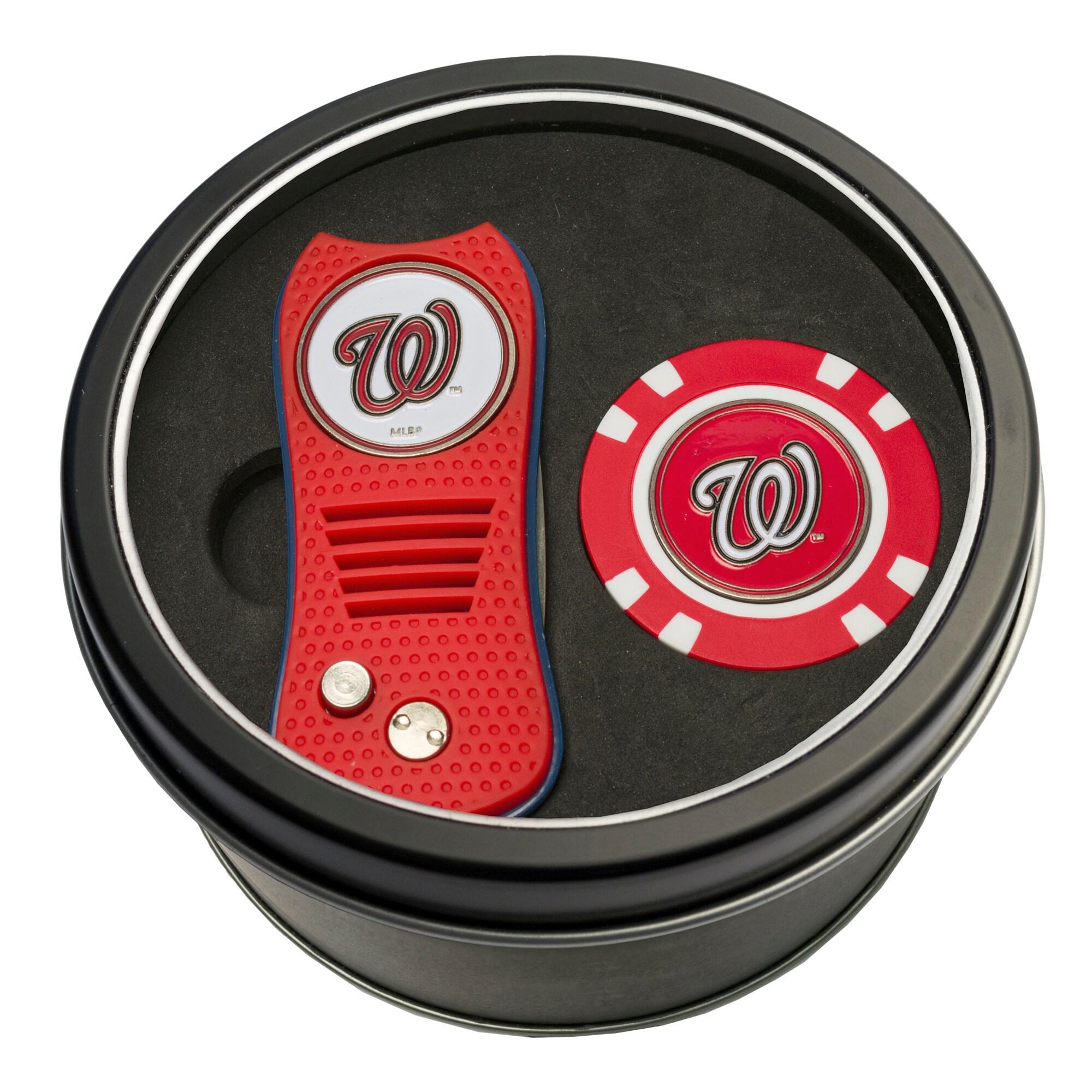 Washington Nationals Switch Chip Golf Tin Set