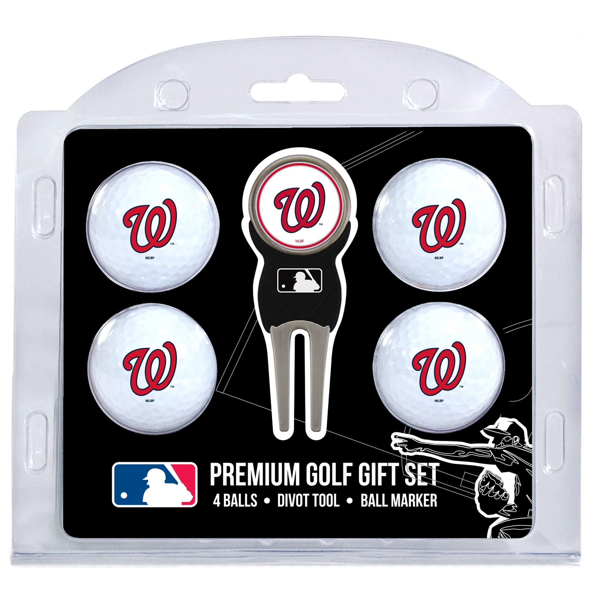 Washington Nationals 4-Ball Gift Set