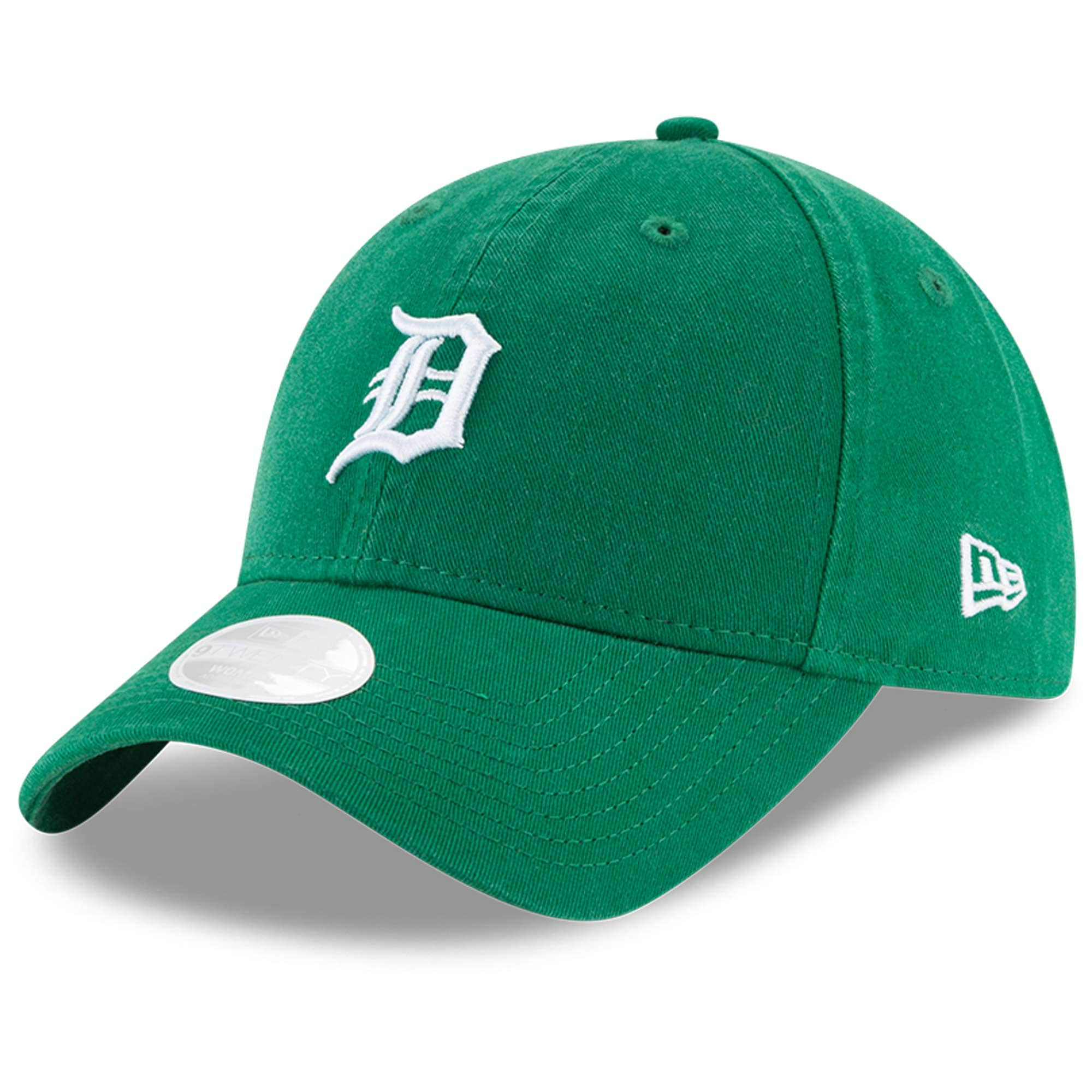 Detroit Tigers New Era Women's Core Classic Twill St. Patrick's Day 9TWENTY Adjustable Hat - Green