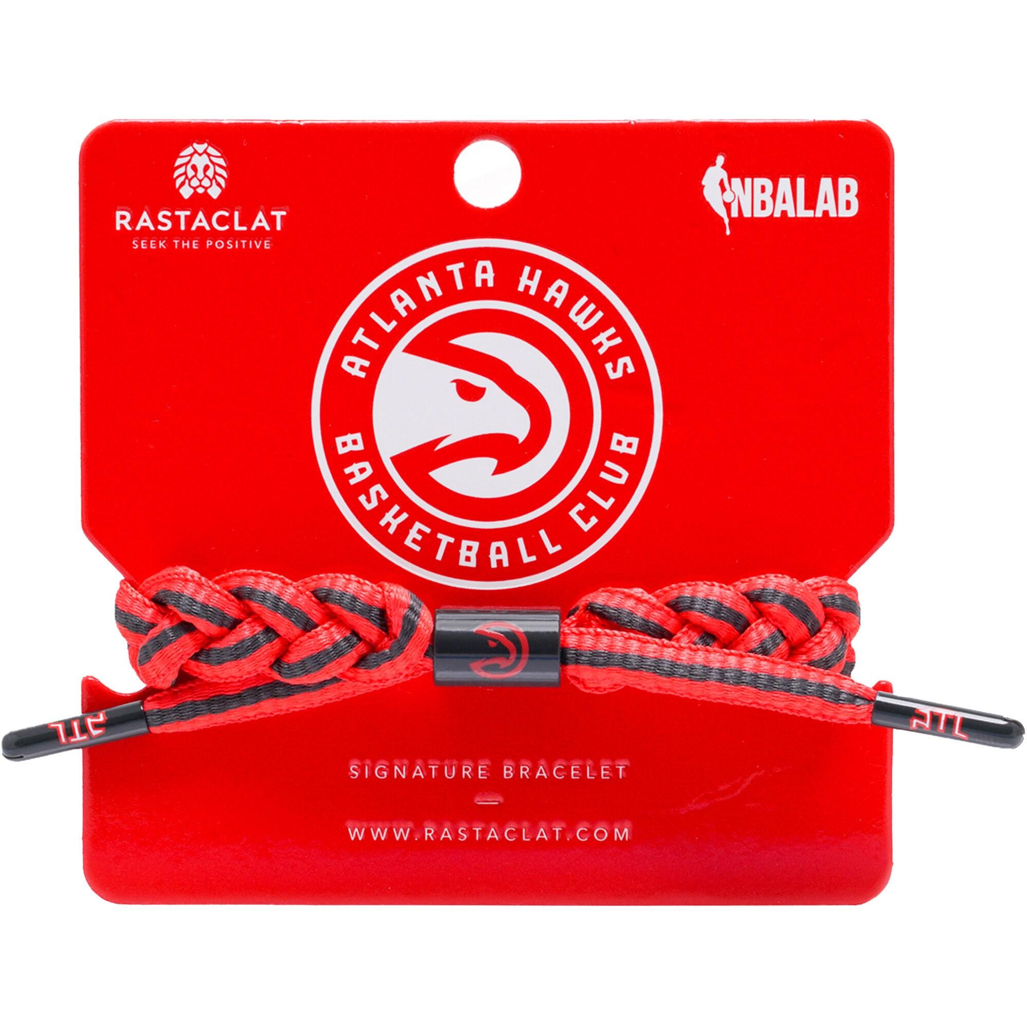 Atlanta Hawks Rastaclat Team Signature Home Bracelet
