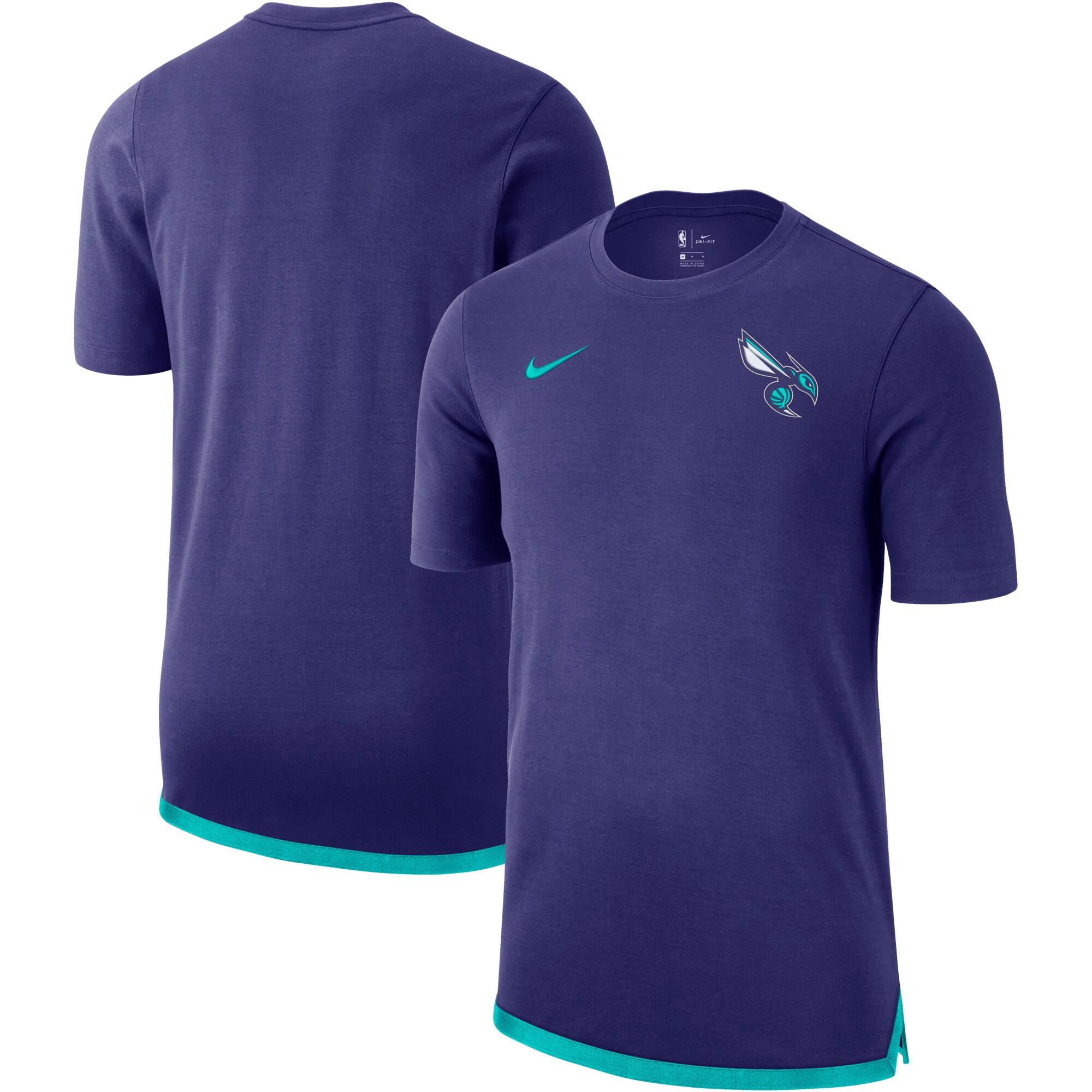 Charlotte Hornets Nike Essential Uniform DNA T-Shirt - Purple