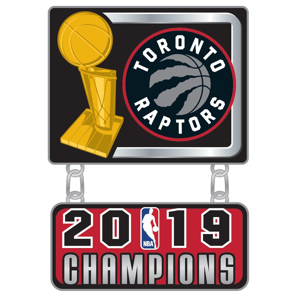 Toronto Raptors 2019 NBA Finals Champions Dangler Pin