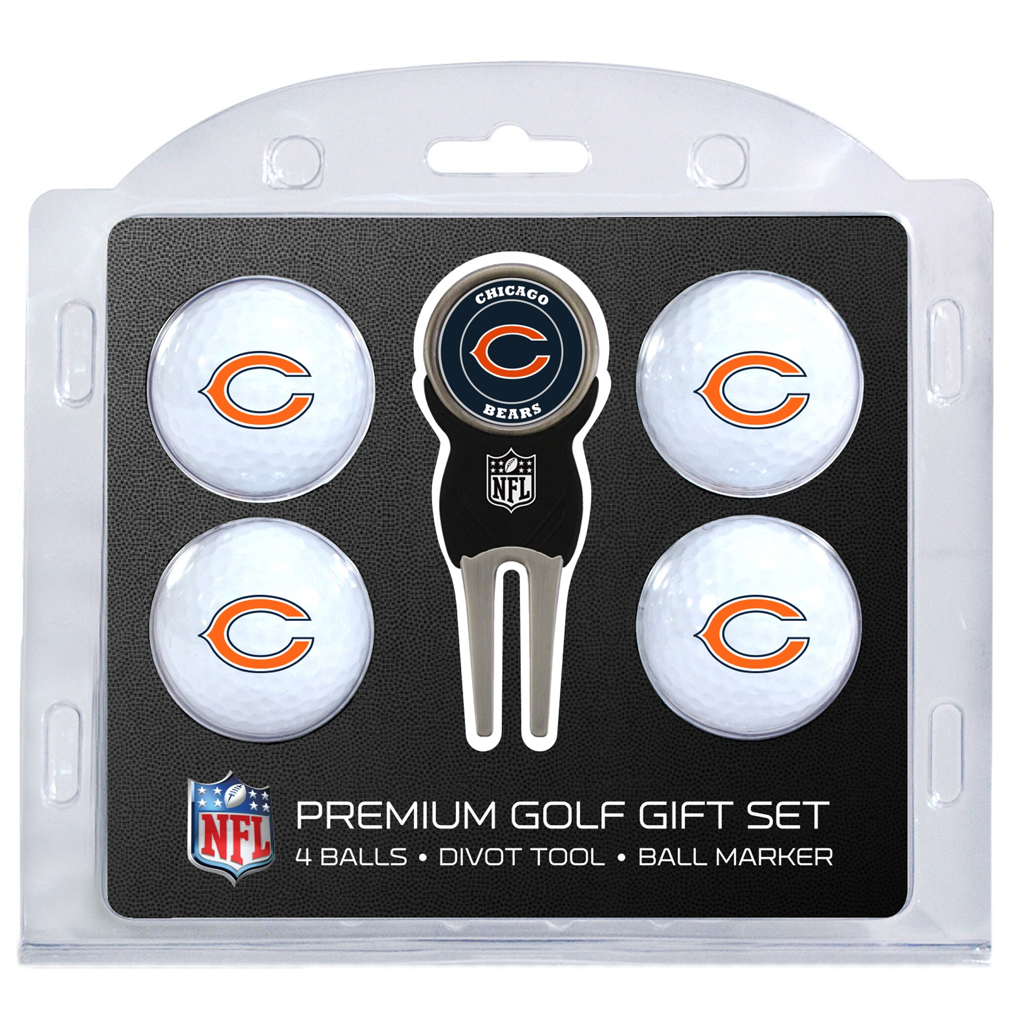 Chicago Bears 4-Ball Gift Set
