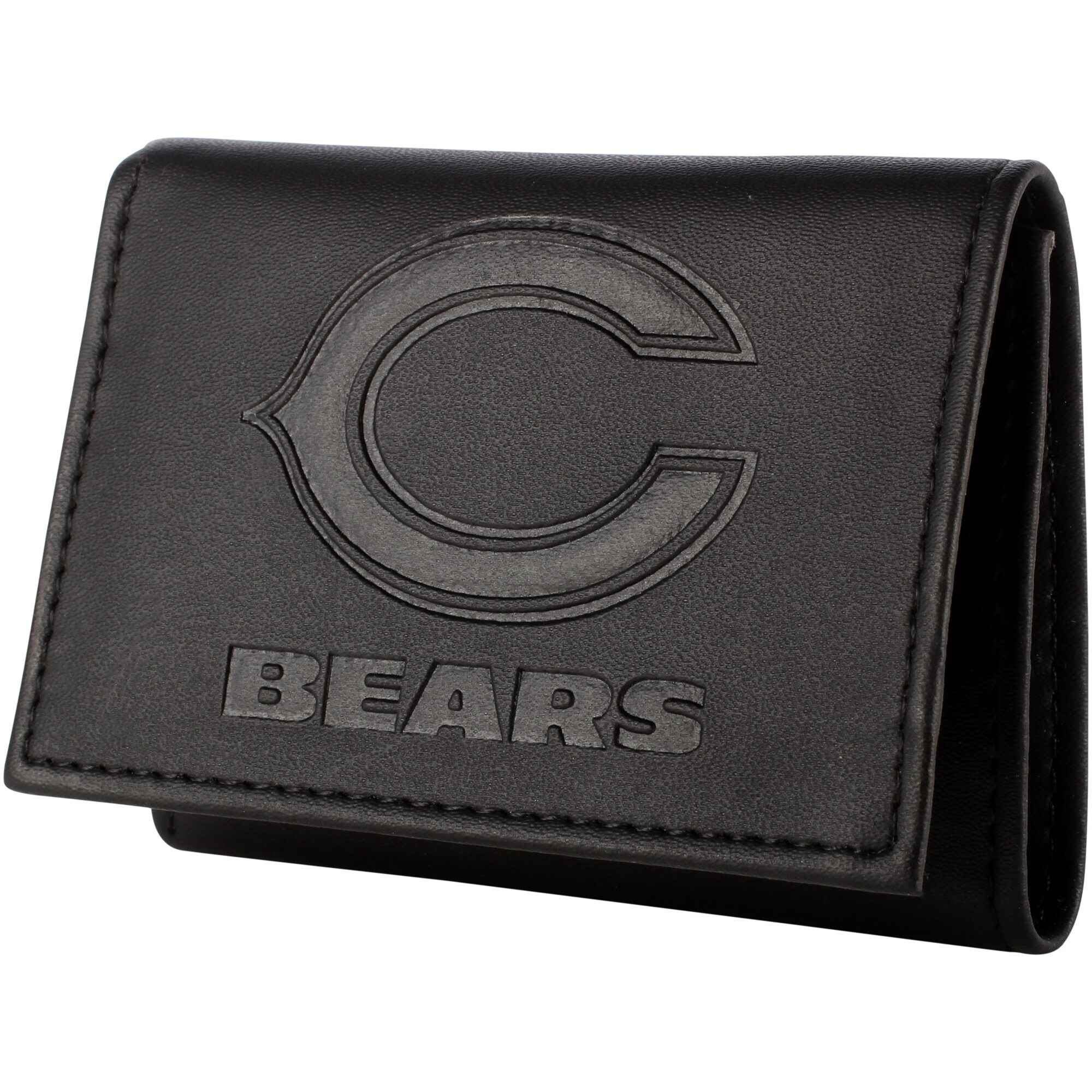 Chicago Bears Hybrid Tri-Fold Wallet - Black