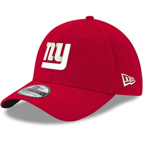 New York Giants New Era 39THIRTY Flex Team Classic Hat - Red