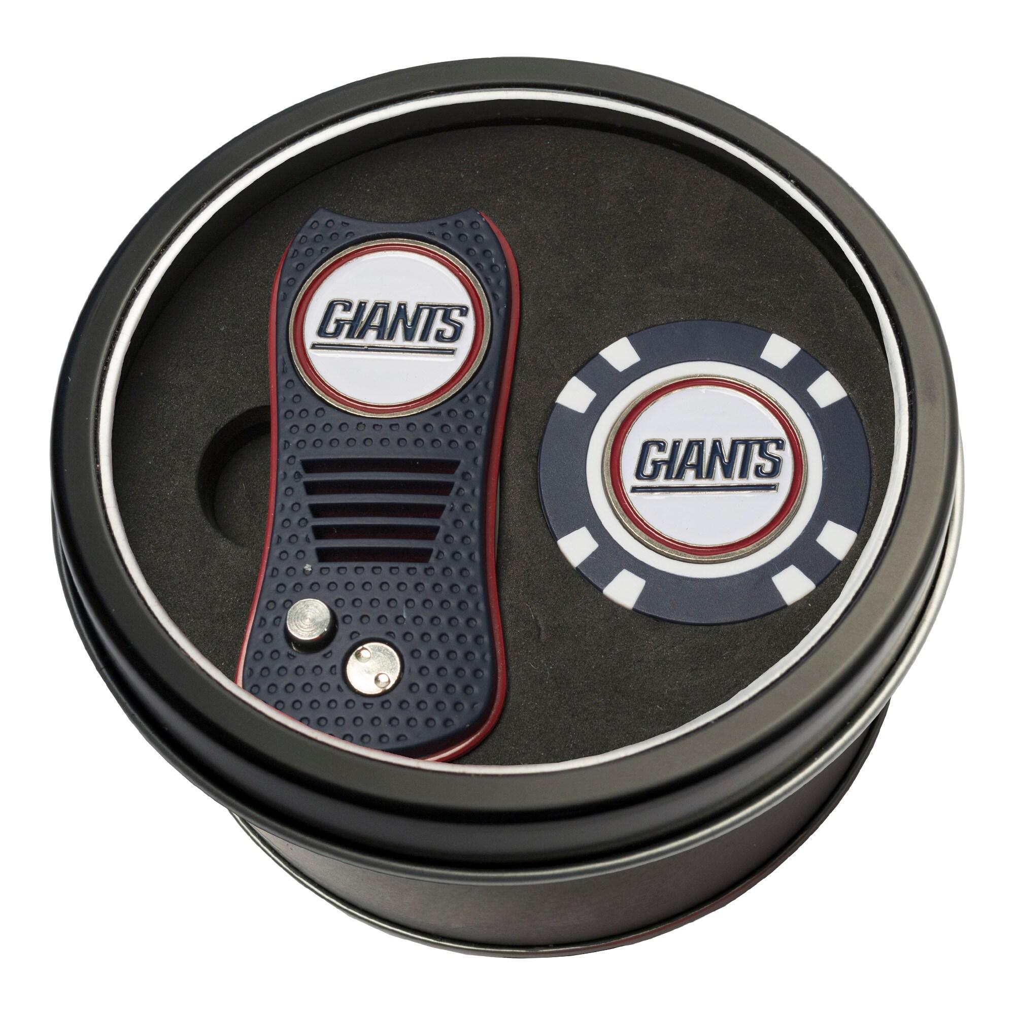 New York Giants Switch Chip Golf Tin Set