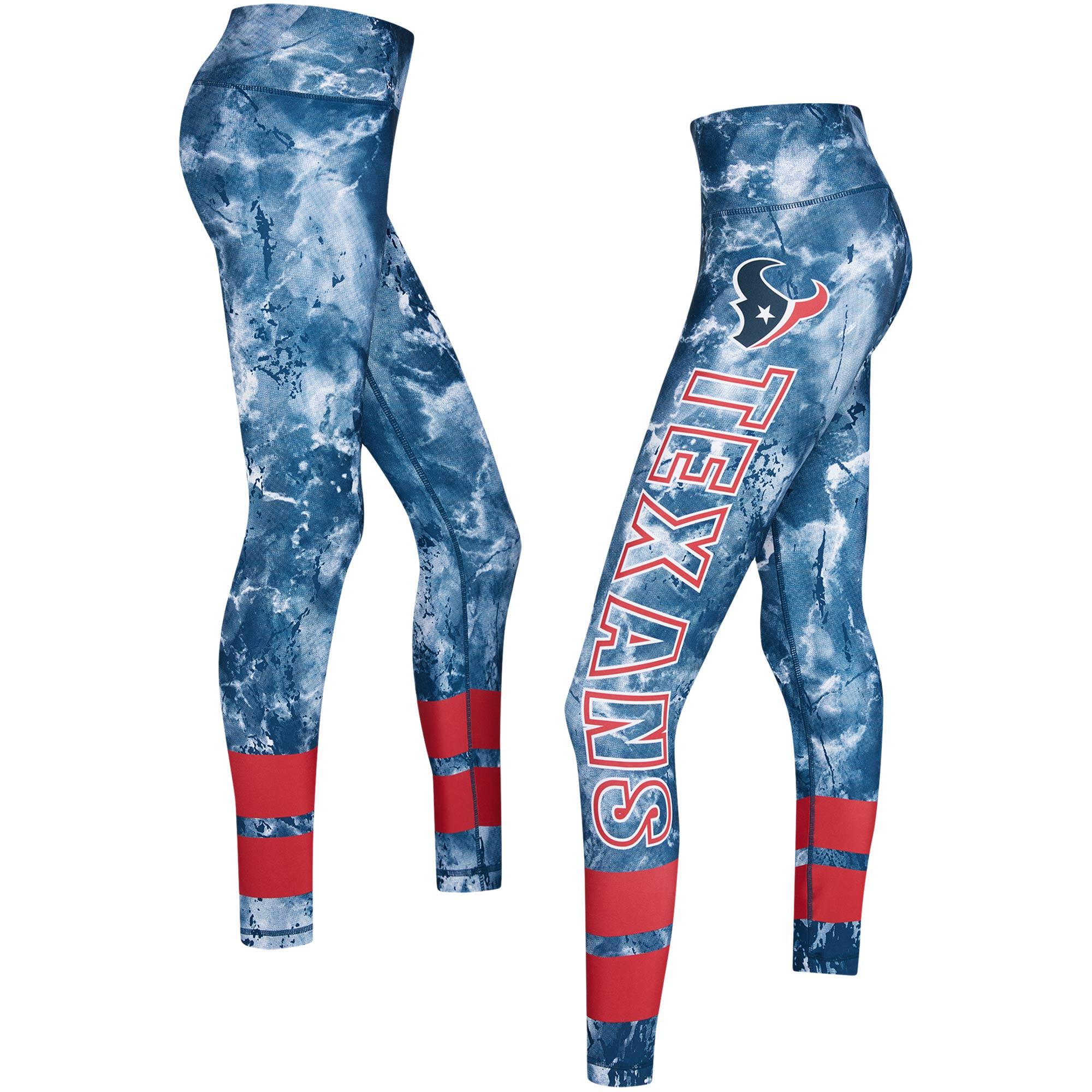 Houston Texans Concepts Sport Women's Dormer Knit Leggings - Navy/Red