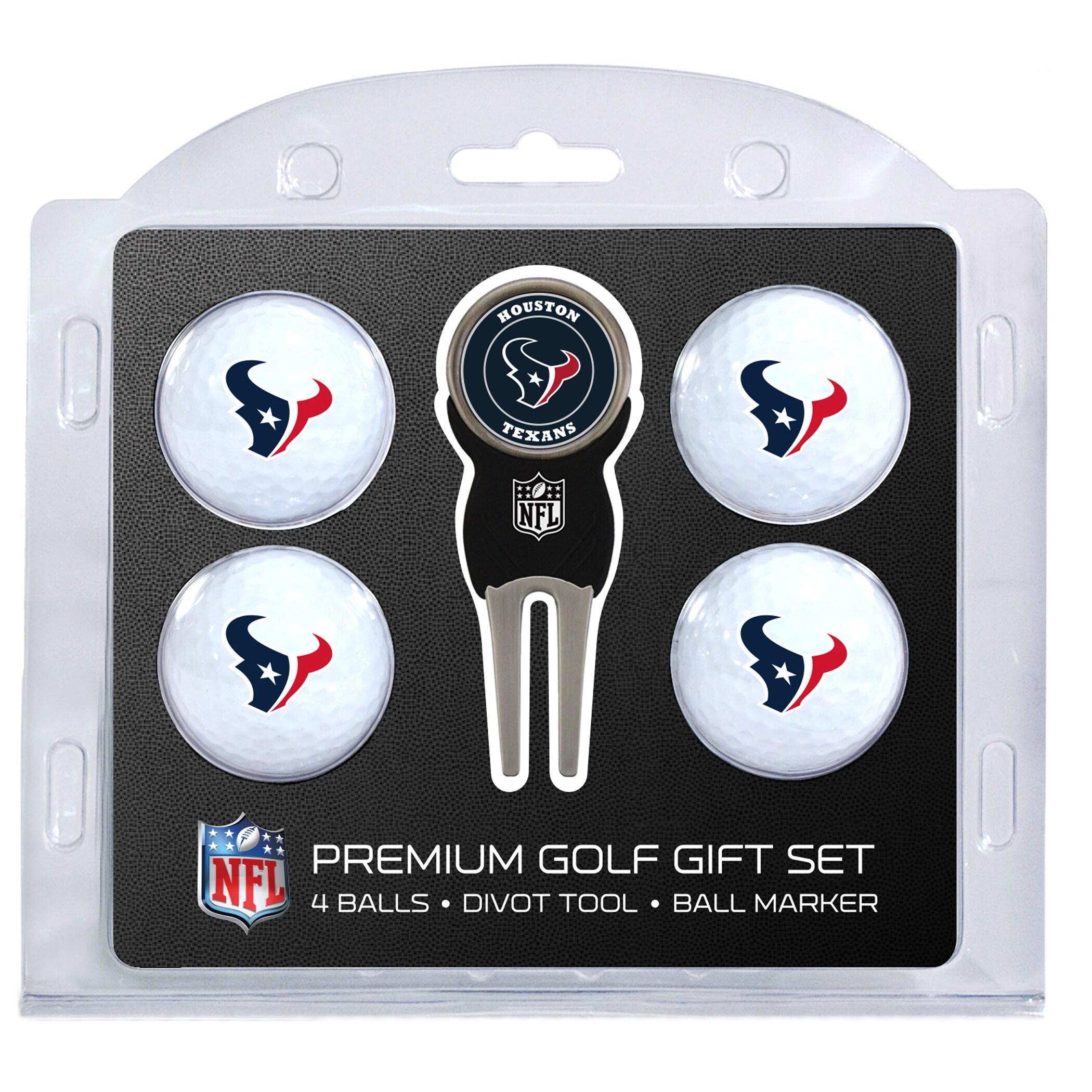 Houston Texans 4-Ball Gift Set