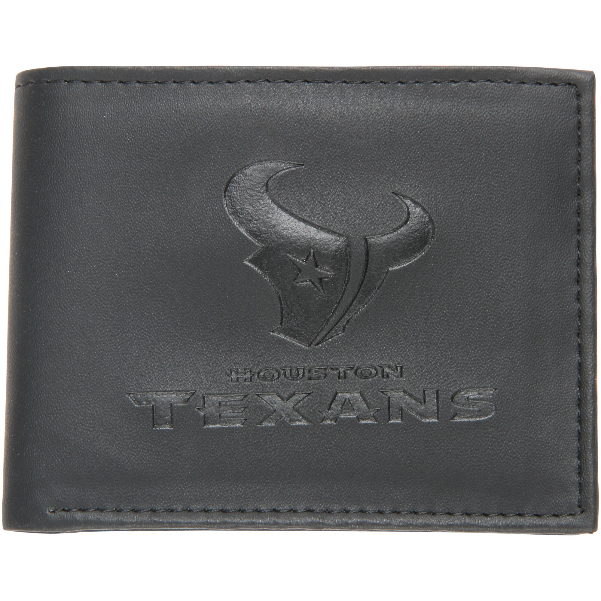 Houston Texans Hybrid Bi-Fold Wallet - Black
