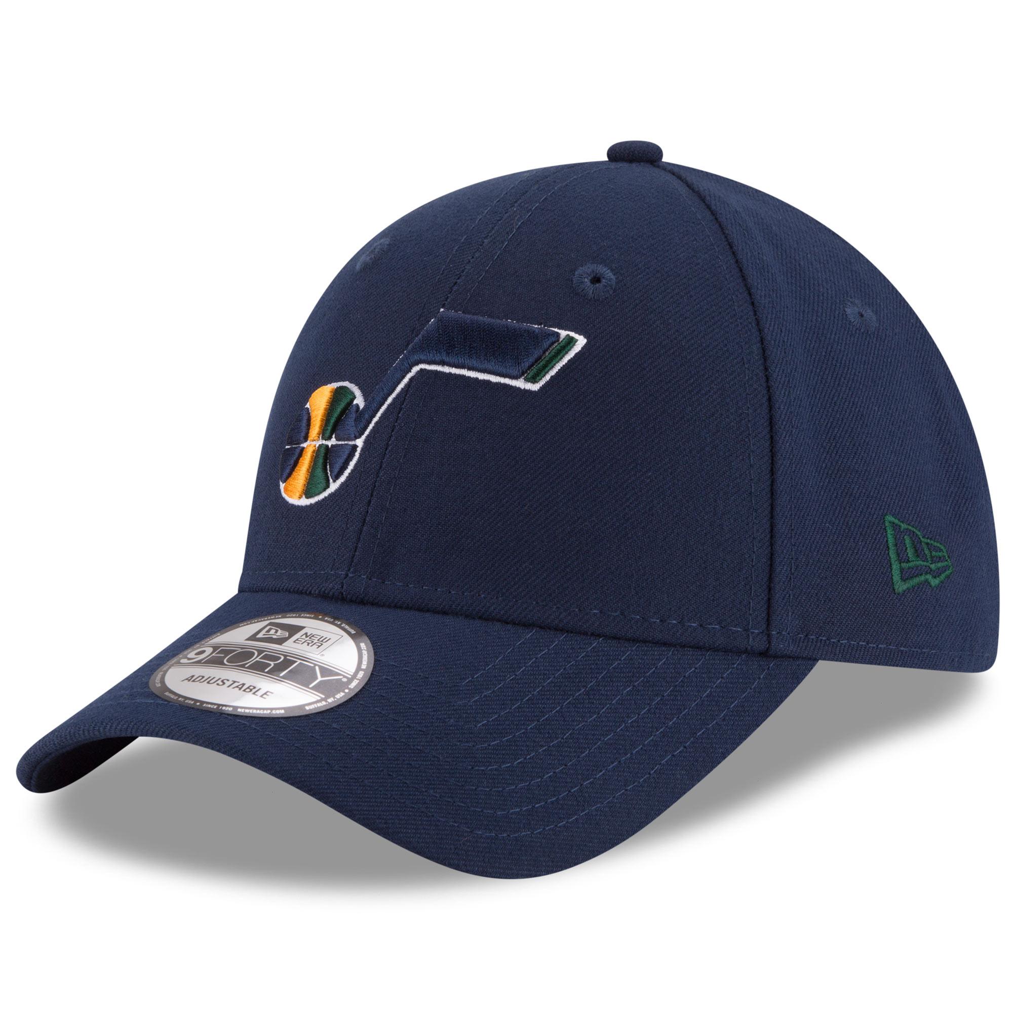 Utah Jazz New Era Official Team Color 9FORTY Adjustable Hat - Navy