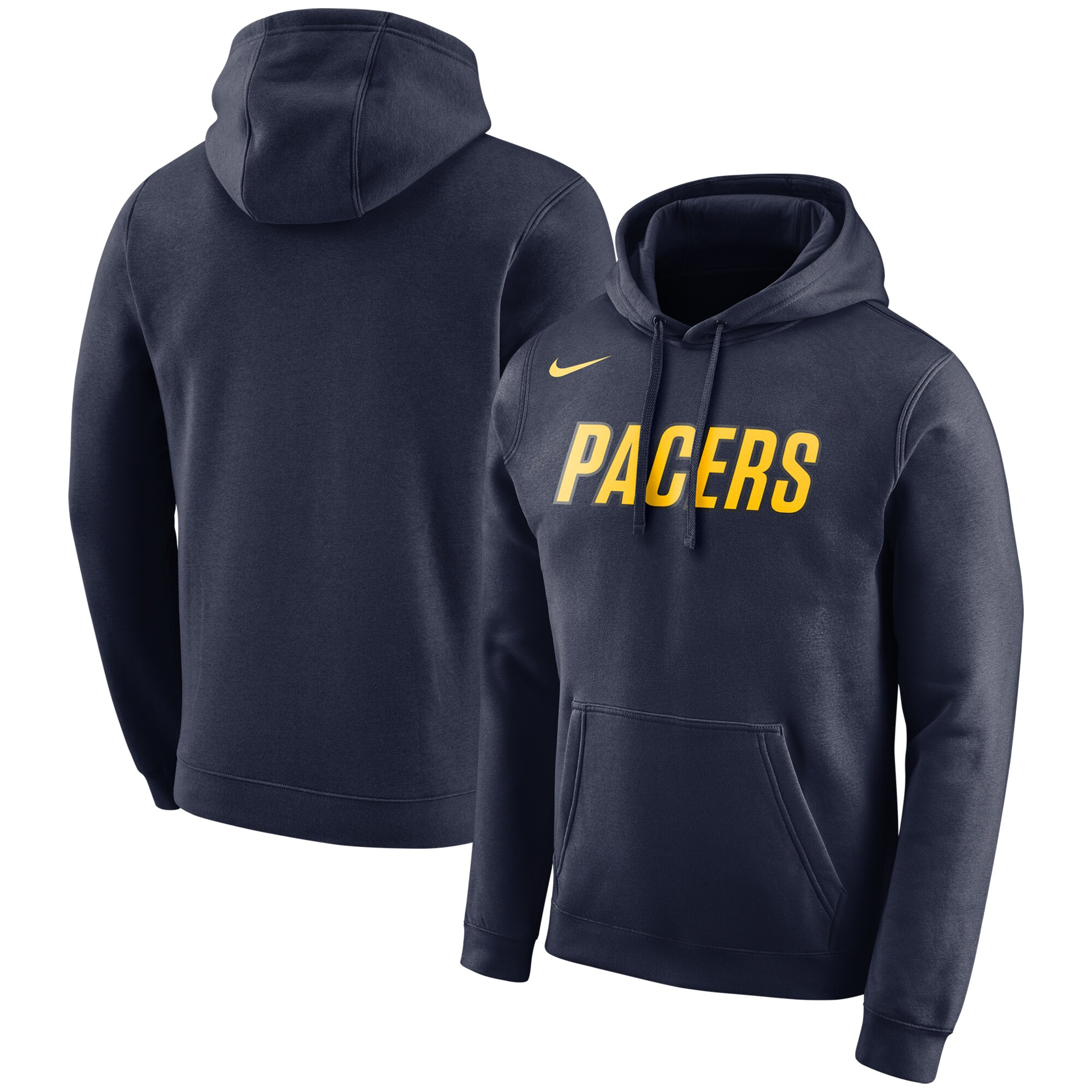 Indiana Pacers Nike City Edition Logo Essential Pullover Hoodie - Navy