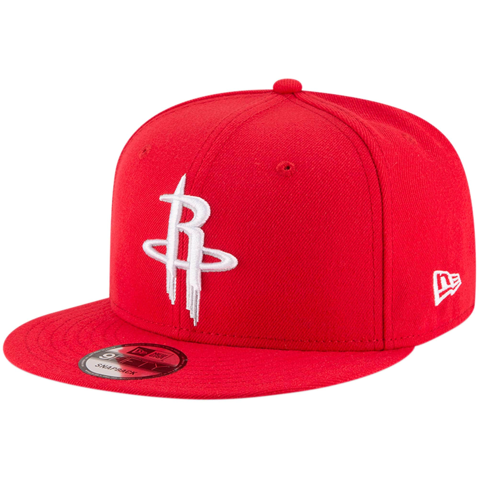 Houston Rockets New Era Official Team Color 9FIFTY Adjustable Snapback Hat - Red