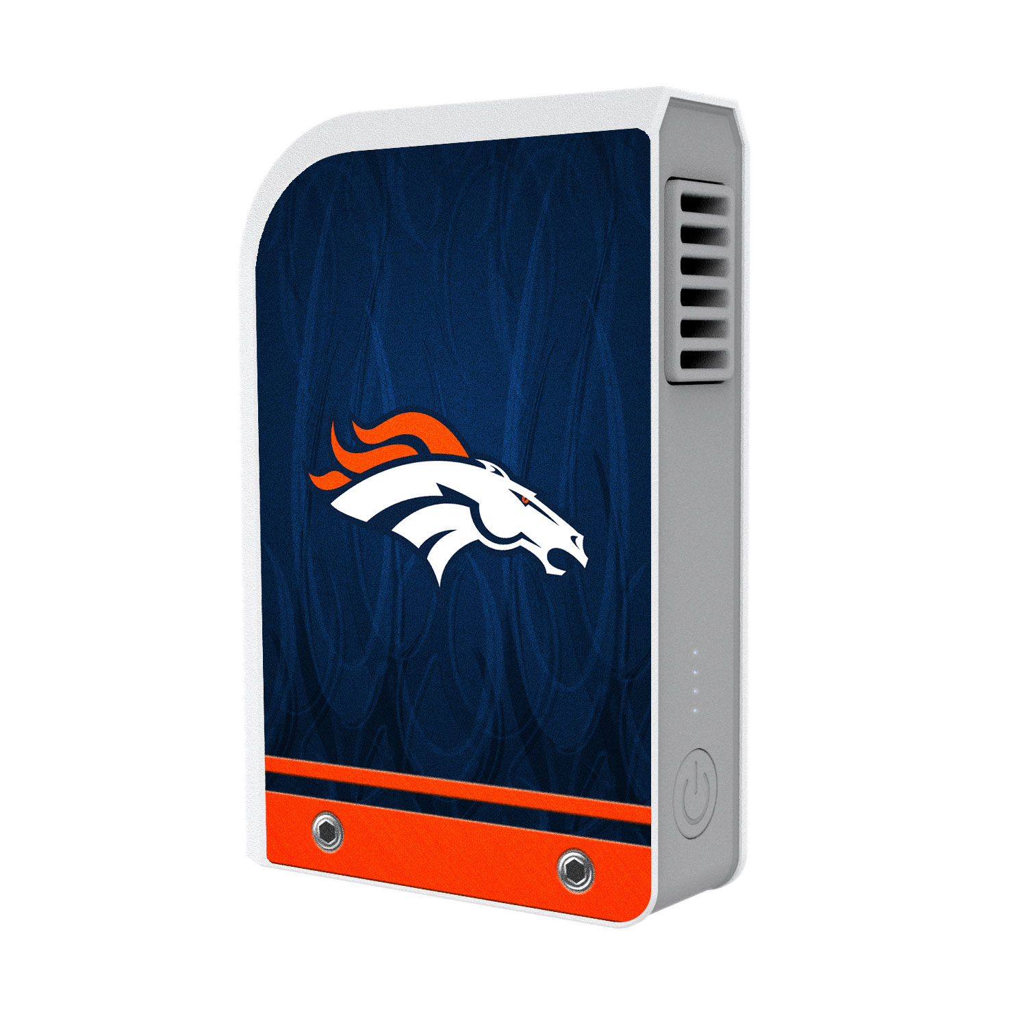 Denver Broncos 6000 mAh Phone Charging Powerbank & Personal Fan