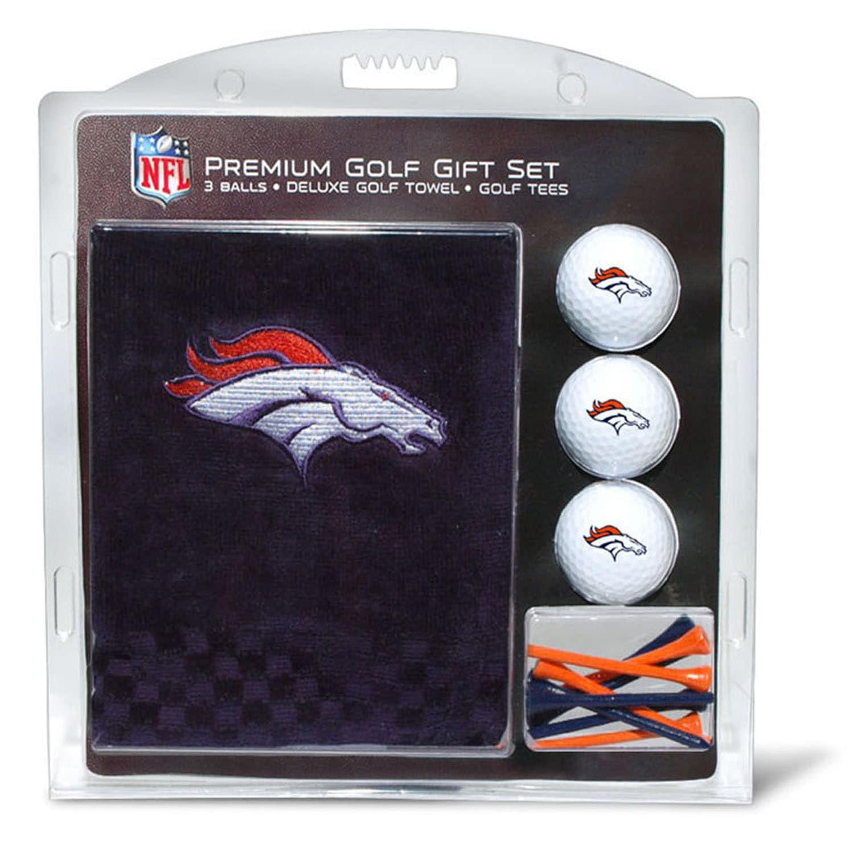 Denver Broncos Embroidered Golf Gift Set