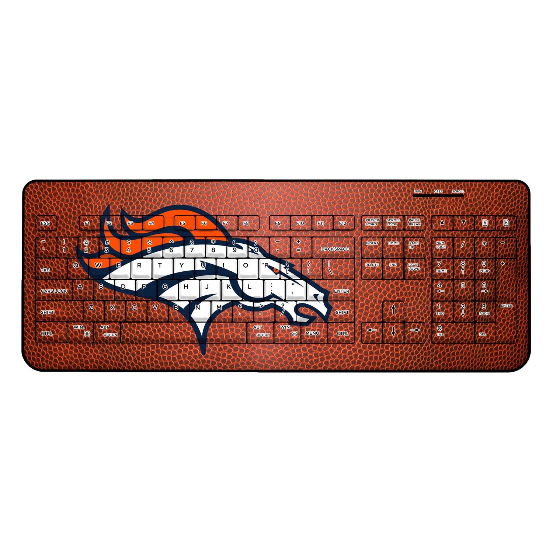 Denver Broncos Football Design Wireless Keyboard