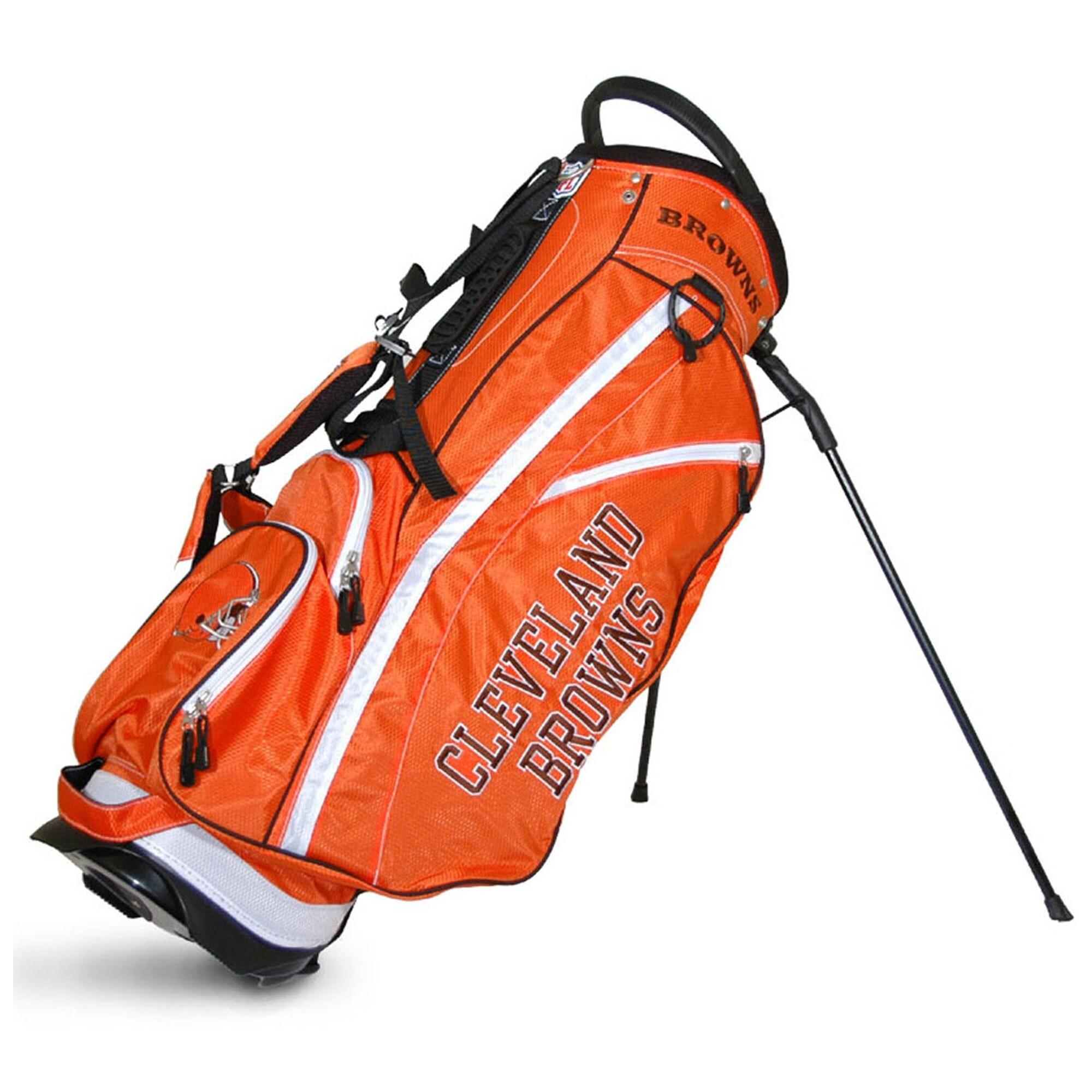 Cleveland Browns Fairway Stand Golf Bag