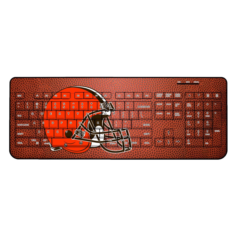 Cleveland Browns Football Design Wireless Keyboard