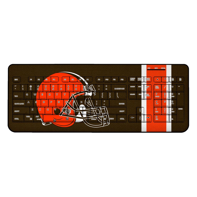 Cleveland Browns Stripe Wireless Keyboard