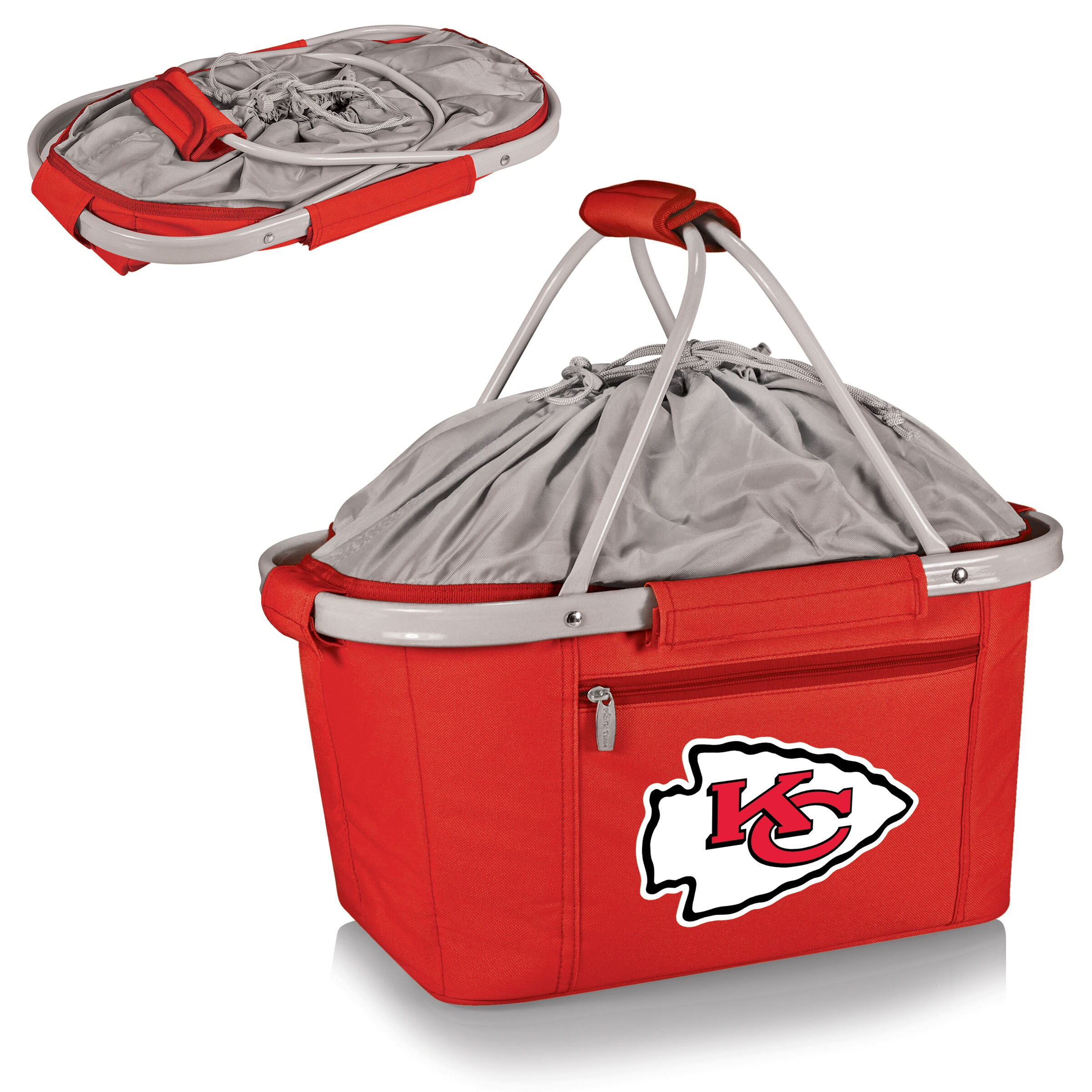 Kansas City Chiefs Metro Basket Collapsible Tote - Red