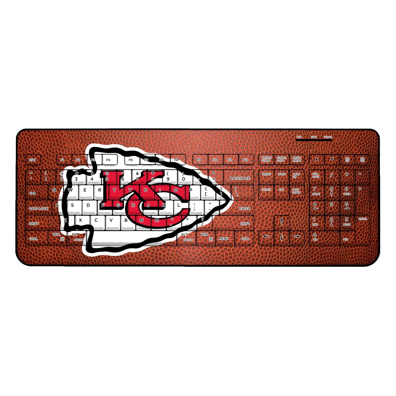 Kansas City Chiefs Football Design Wireless Keyboard